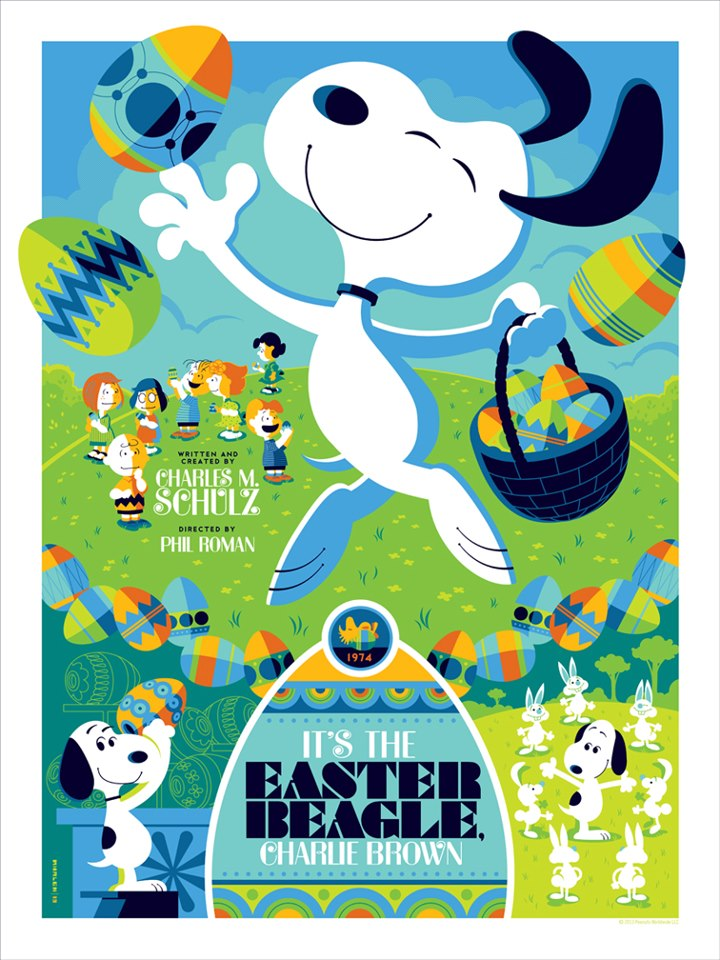 Tom Whalen's Easter Beagle